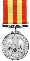 Fire Service Exemplary Service Medal