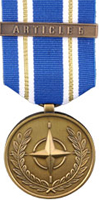 "ARTICLE 5 NATO Medal for Operation ""Active Endeavour"""